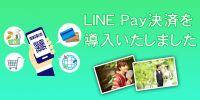 LINE Pay決済を導入いたしました!